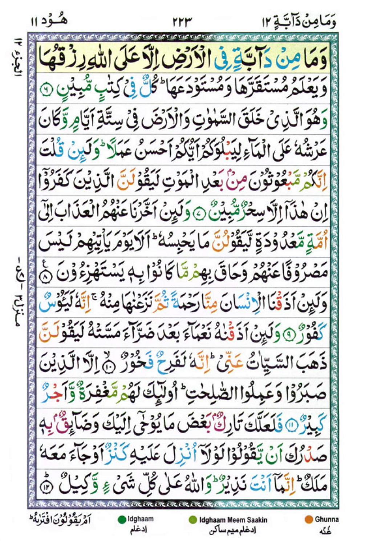 Quran Para 12
